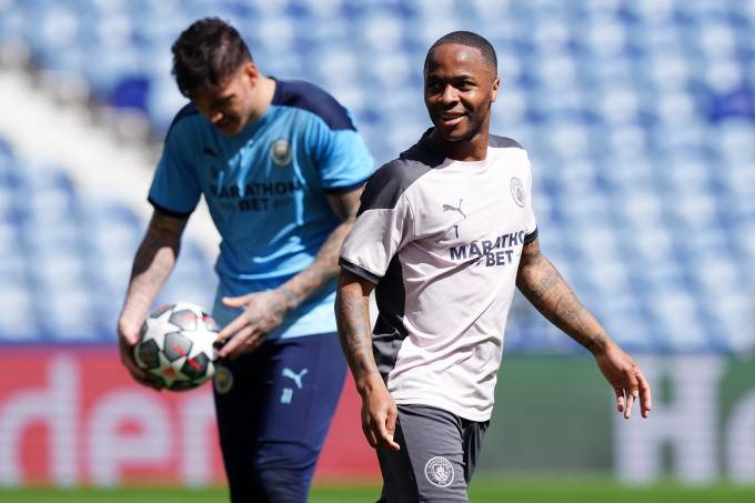Manchester City FC Training Session and Press Conference – UEFA Champions League Final 2021