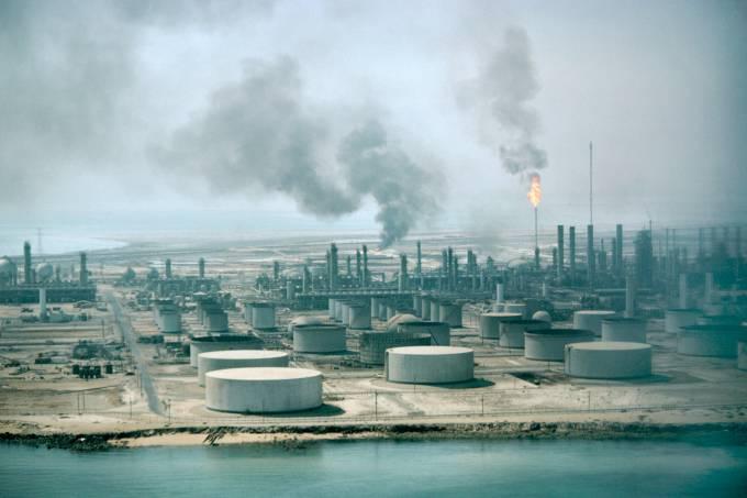 Aramco Oil Refinery, Saudi Arabia