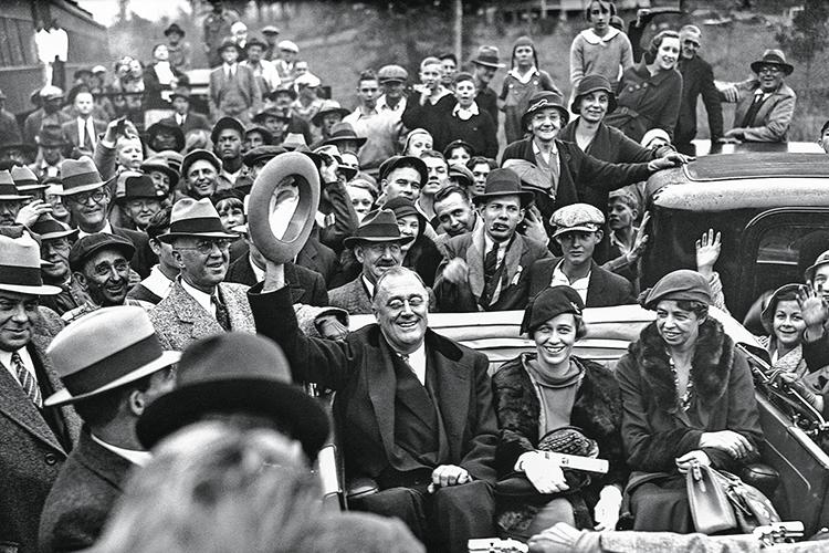 COMPARAÇÃO - Roosevelt: medidas arrojadas contra a Grande Depressão teriam sido a inspiração de Biden -