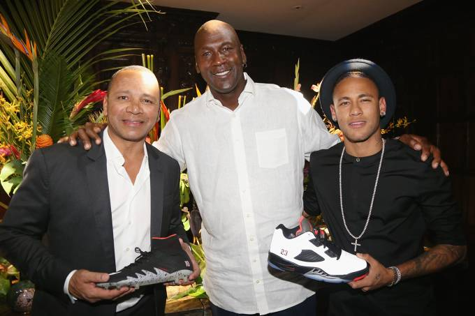 An Intimate Evening With Michael Jordan And Neymar Jr