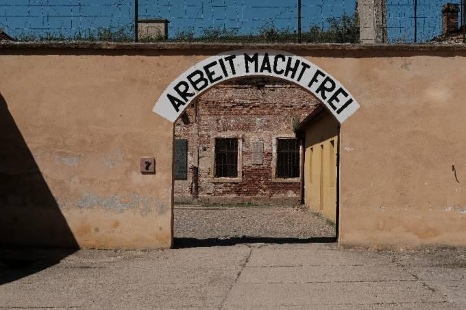 Campo de concentração de Terezin, na República Checa //