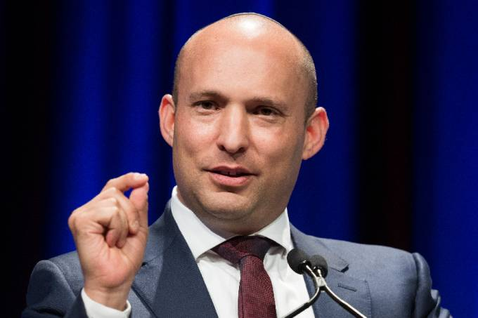 Naftali Bennett, leader of the Israeli right-wing Yamina
