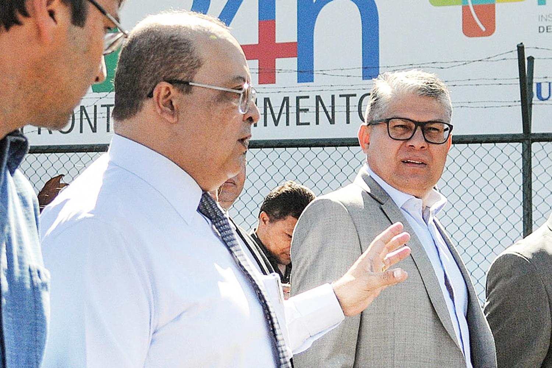 EM BRASÍLIA - Ibaneis diz que conheceu Araújo no Ministério da Saúde -