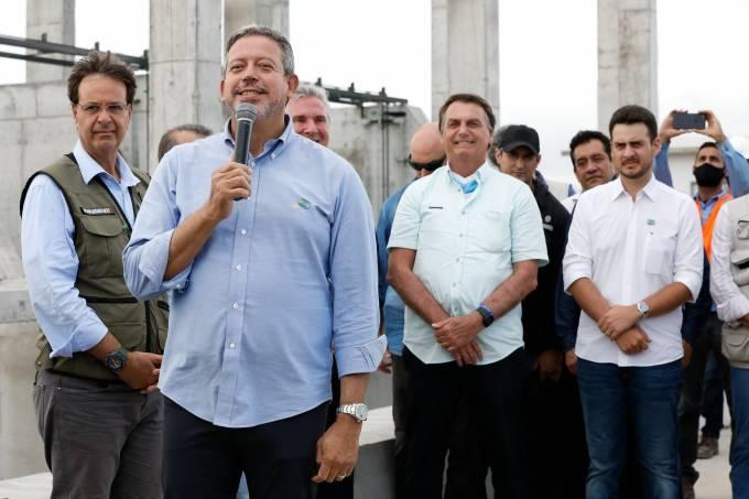 Lira e Bolsonaro