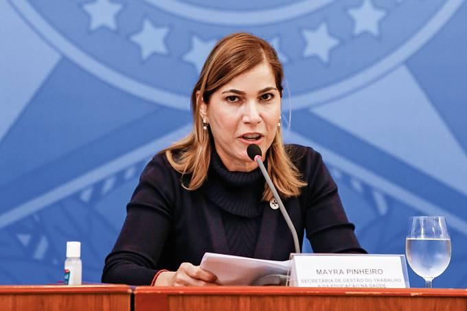 12/06/2020 Coletiva de imprensa com representantes do Ministéri