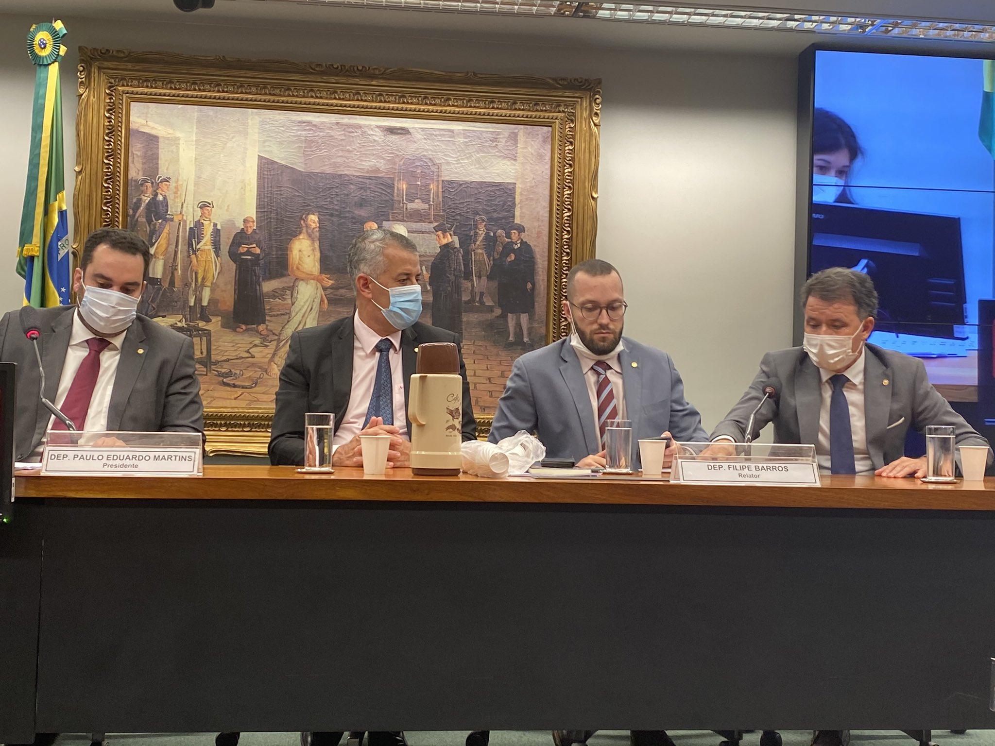 Reunião da comissão especial da Câmara que irá discutir a volta do voto impresso