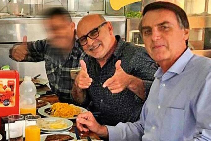 Queiroz e Bolsonaro