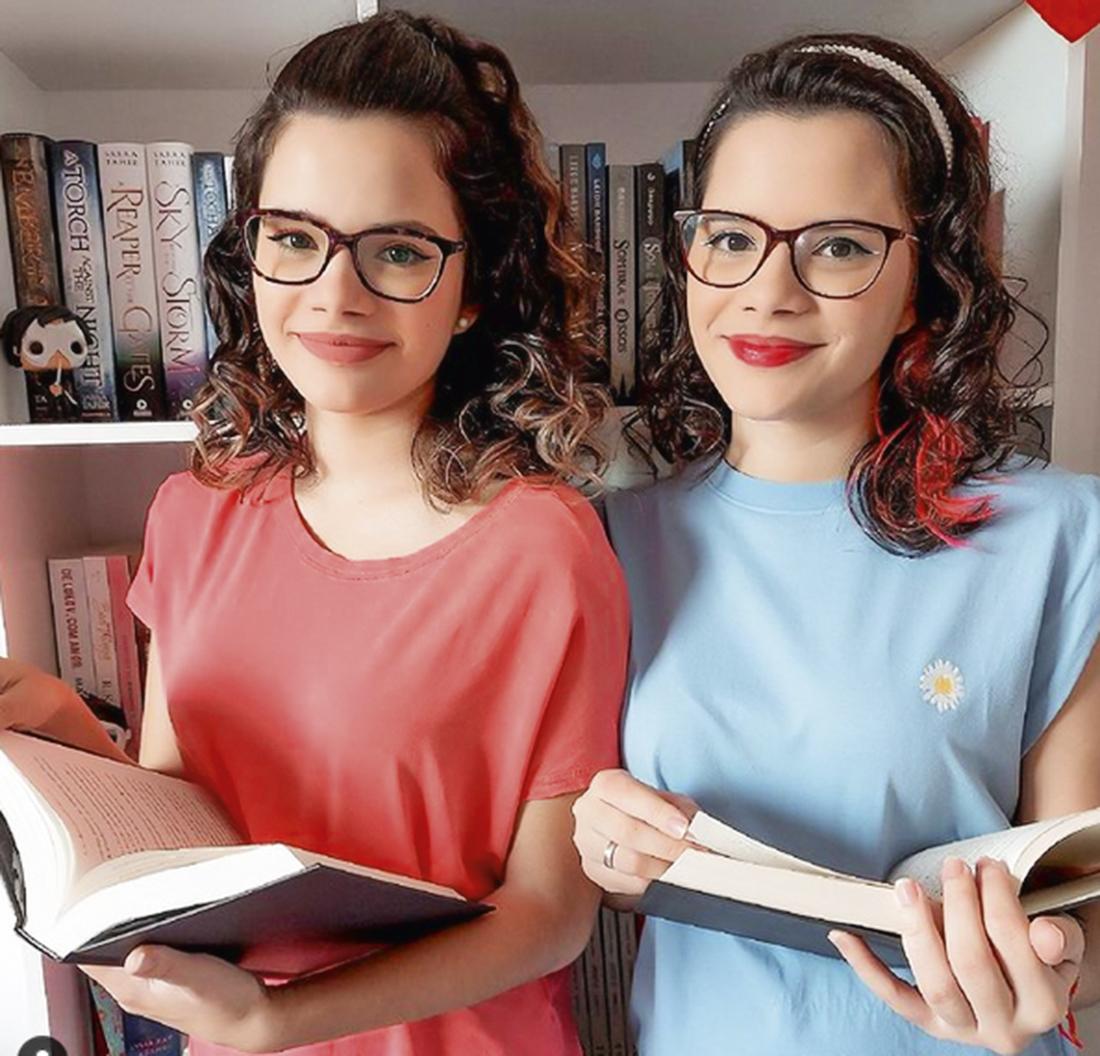 As irmãs Sarah e Sabrina Carvalho