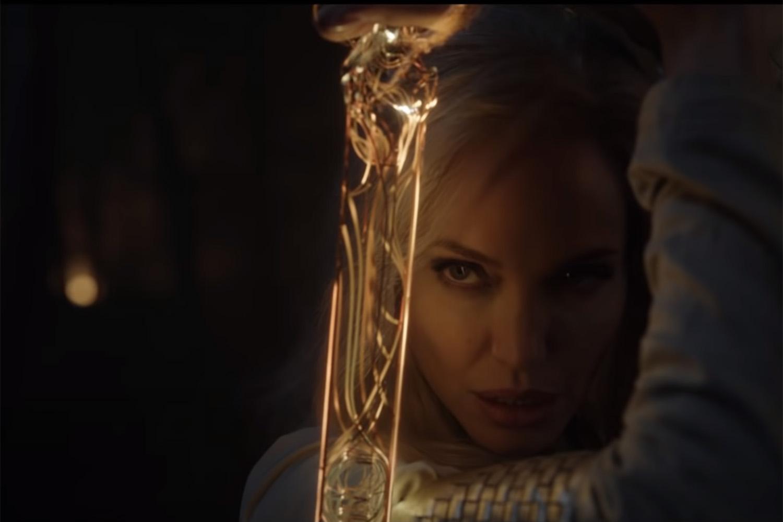 Angelina Jolie no filme 'Eternos' -
