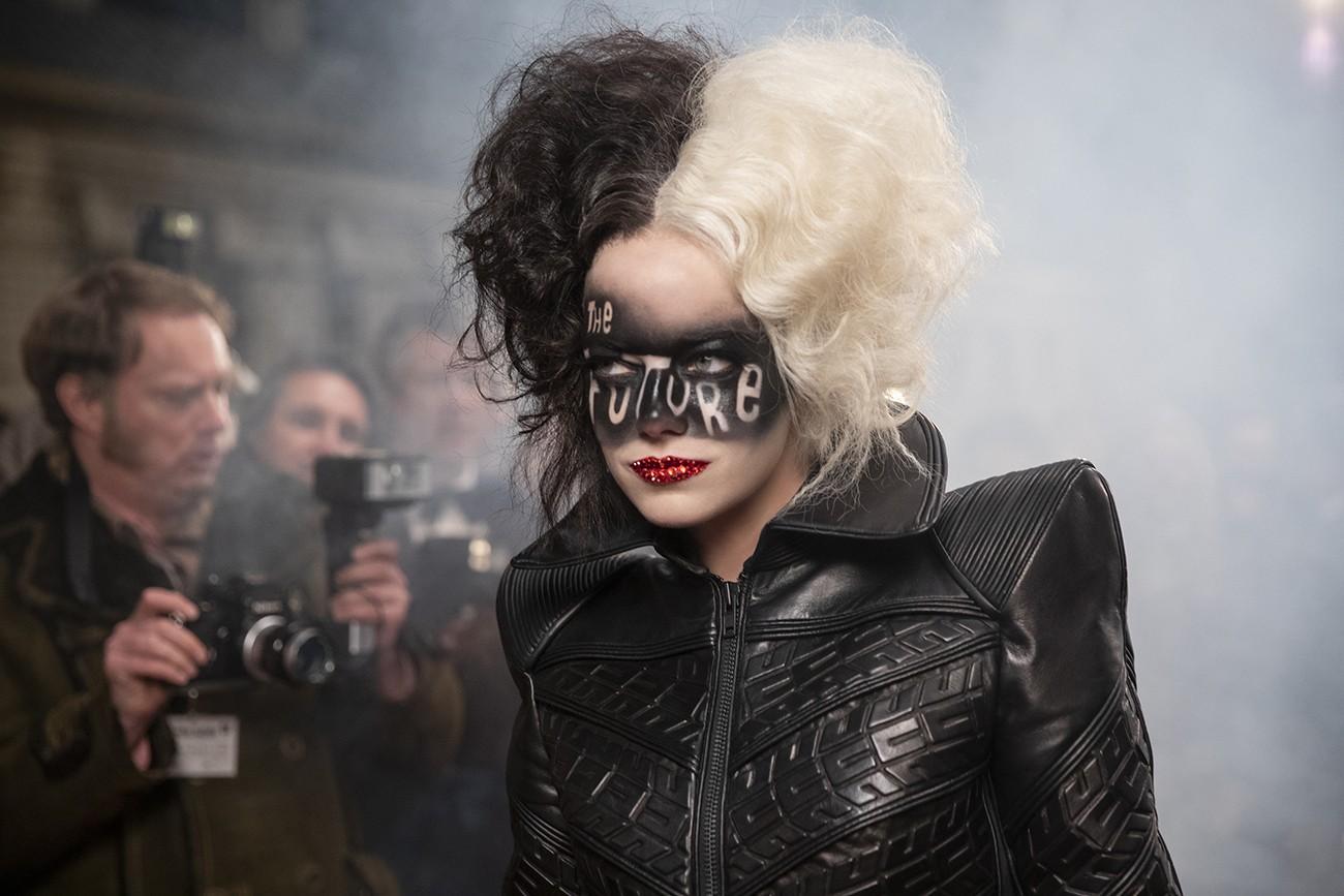 Emma Stone no filme 'Cruella' -