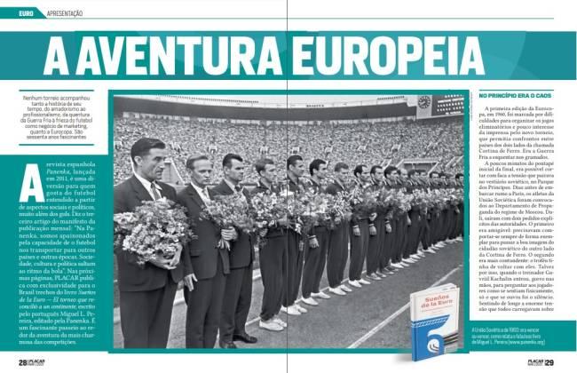 Trecho do guia da Eurocopa