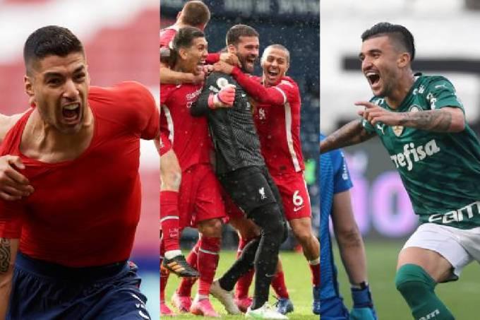 Suárez, Alisson e Victor Luís: destaques do fim de semana
