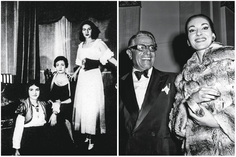 DRAMAS PRIVADOS -Em 1940, com a mãe, Evangelia, que tentou prostituí-la, e a irmã, Jackie, e com o magnata Onassis, que a trocaria por Jacqueline Kennedy: ela sofreu humilhações e foi vítima até de abuso sexual -