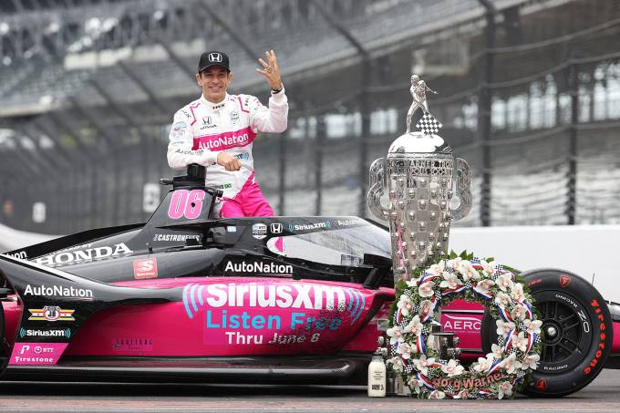 105th Running Of The Indianapolis 500 – Winner's Portraits