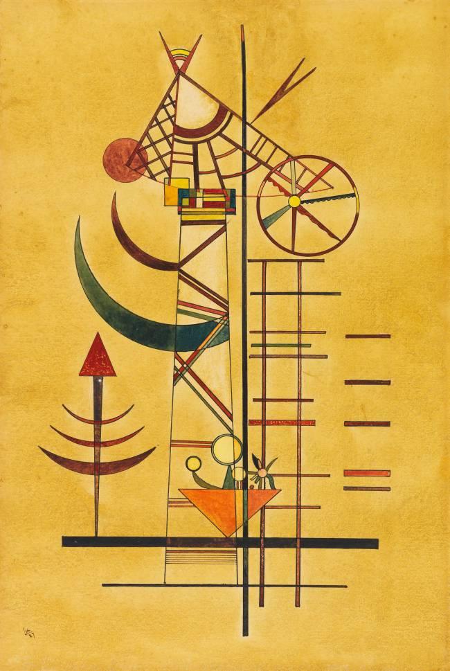 Aquarela de Kandinsky
