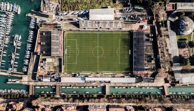 Estádio Pier Luigi Penzo, pequeno reduto do FC Venezia -