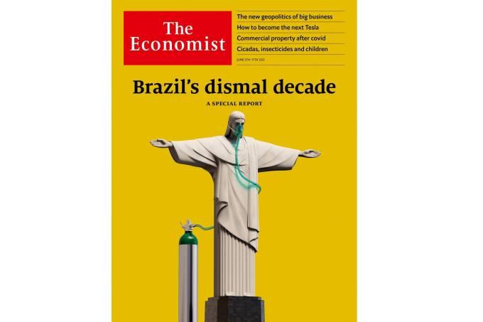 """Reportagem especial da revista """"The Economist"""" sobre o Brasil"""
