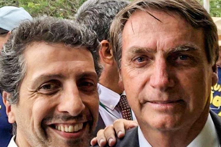 NOVO TITULAR -Leite, com o presidente: conselheiro por mais de duas décadas de entidade ruralista -