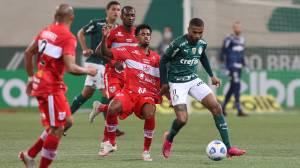 CRB suportou a pressão imposta pelo Palmeiras nos 90 minutos -