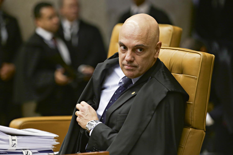 APOIO -Alexandre de Moraes: no STF, ministros também se dividem entre os candidatos -