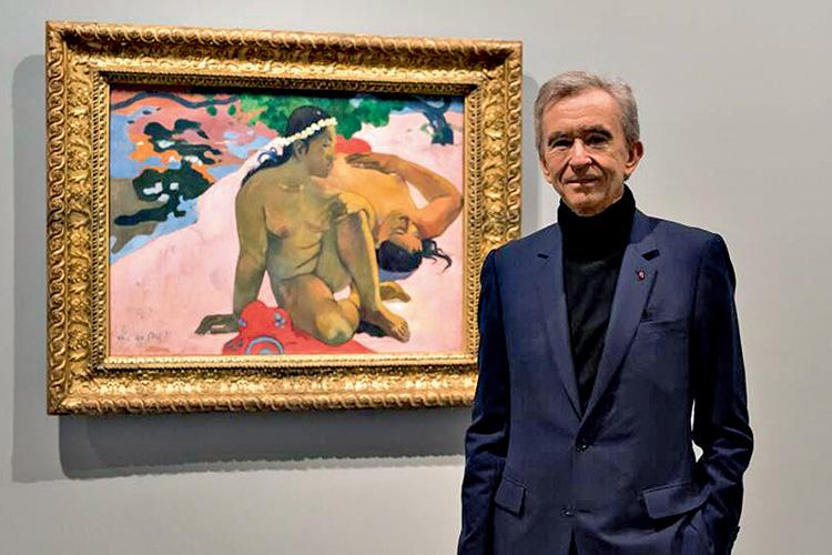O DELE -Arnault na Fundação Louis Vuitton: a largada na guerra requintada -