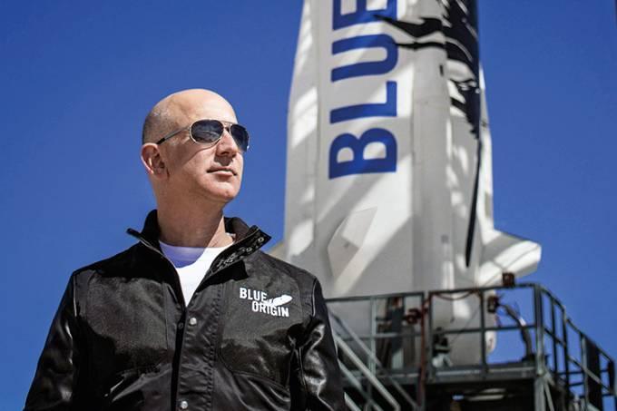 Jeff Bezos –  Blue OriginCredito: Blue Origin