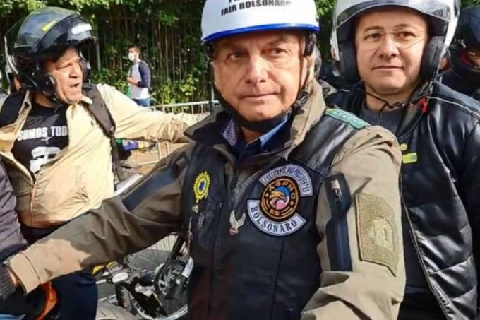 Bolsonaro motosseata