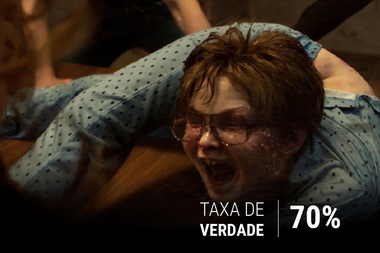 O exorcismo de David Glatzel é um dos momentos mais tensos do filme