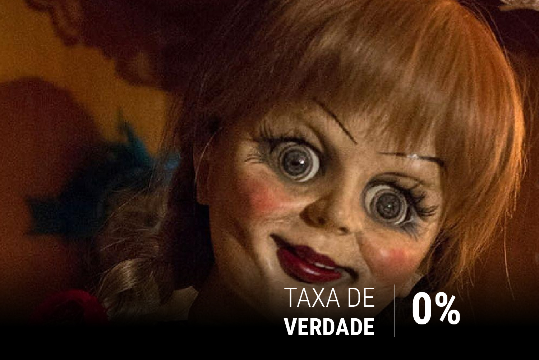 A famosa boneca Annabelle se quer aparece no terceiro longa da franquia Invocação do Mal
