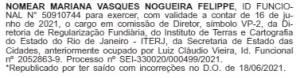 A nomeação do deputado Jorge Felippe Neto no Diário Oficial