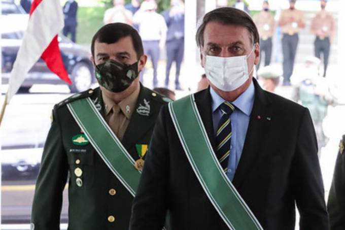 General Paulo Sérgio e Jair Bolsonaro