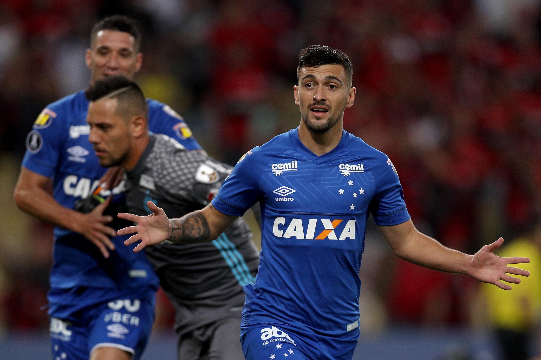 Pelo Cruzeiro, meia uruguaio conquistou duas edições da Copa do Brasil -