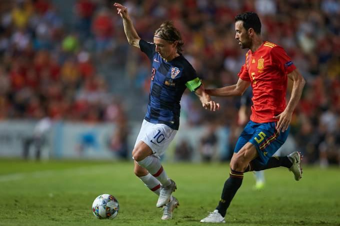 Modric contra Busquets; Croácia enfrentará a Espanha
