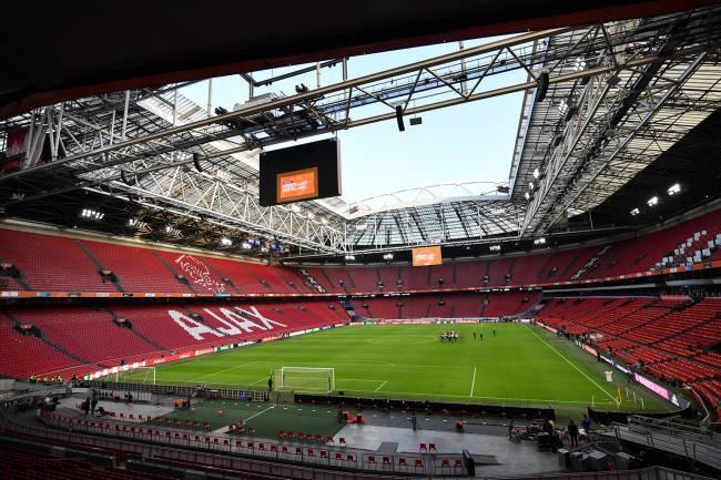 O estádio Johan Cruyff Arena , na Holanda -
