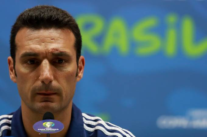 Argentina Press Conference & Training Session – Copa America Brazil 2019