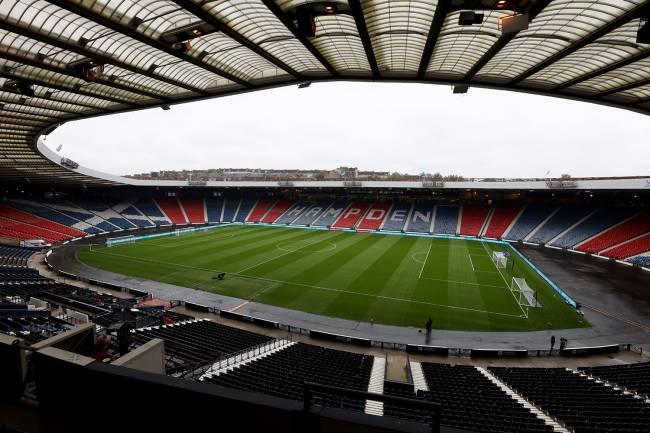 O estádio Hampden Park, na Escócia -