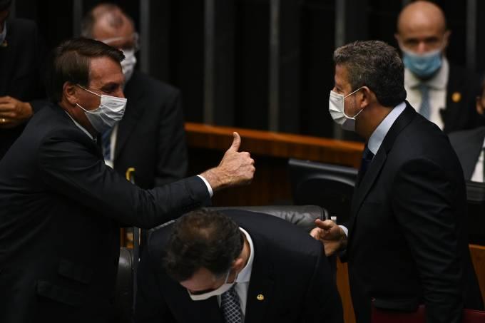 Brazil's President Jair Bolsonaro Attends The Opening Session Of The Legislative Year