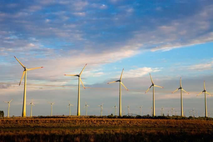 Osorio wind farm ( Parque Eolico de Osorio ), a wind farm in