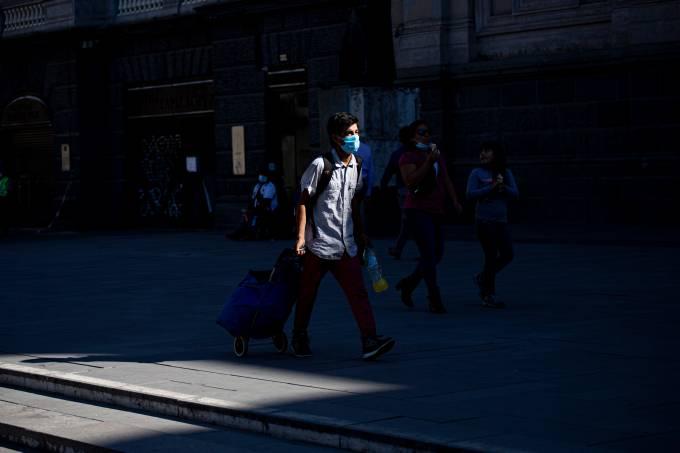 Quarantine In Santiago De Chile