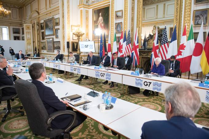 G7 Finance Ministers Meet In London – Day 1