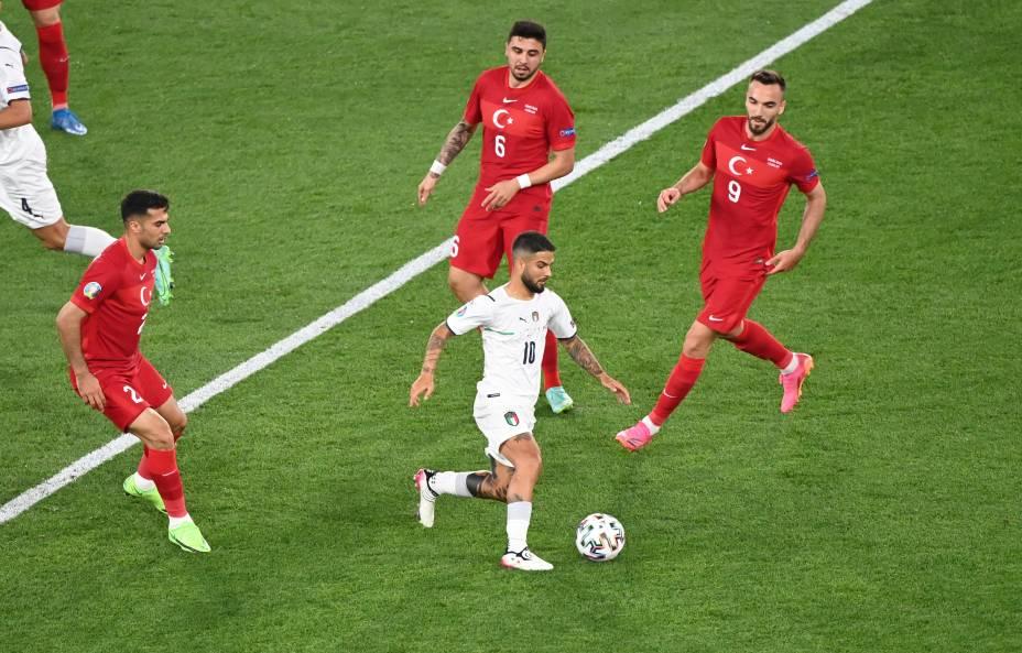 Itália e Turquia abrem a Eurocopa de 2021, em Roma