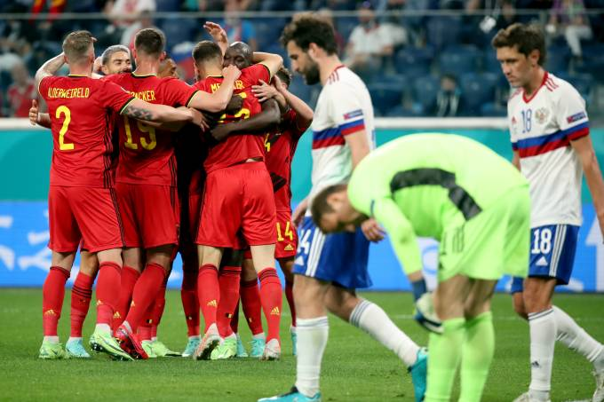 UEFA Euro 2020 Group Stage: Belgium vs Russia