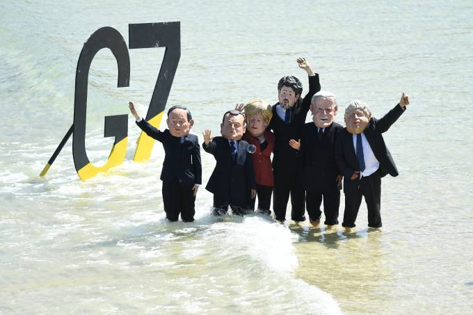 Cornwall In The Spotlight During G7 Leaders' Summit
