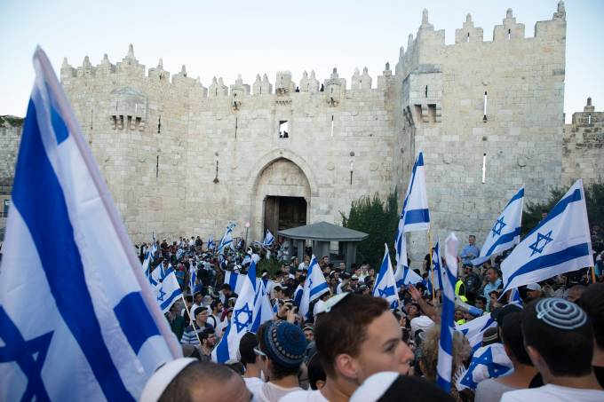 Nationalist Flag March Allowed To Proceed In Jerusalem