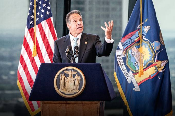 Governor Andrew Cuomo announced COVID-19 restrictions lifted