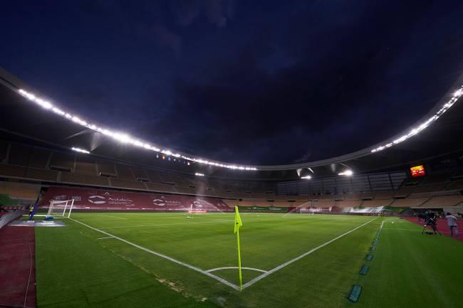 O estádio de La Cartuja, na Espanha -