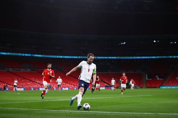 Harry Kane pode ser o capitão a guiar a Inglaterra a um título em casa
