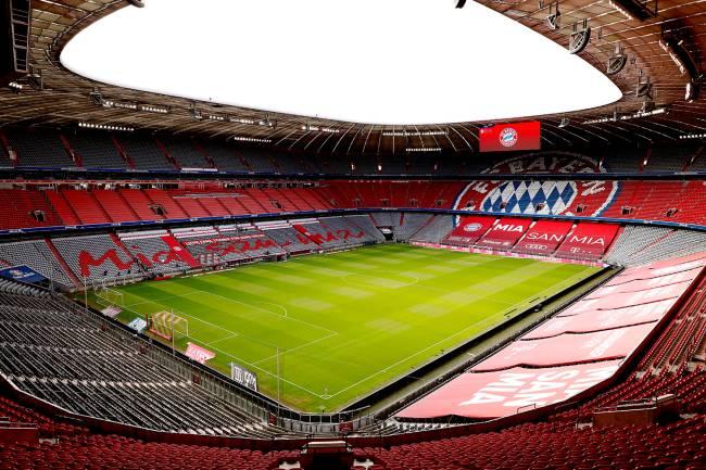 O estádio Allianz Arena, na Alemanha -