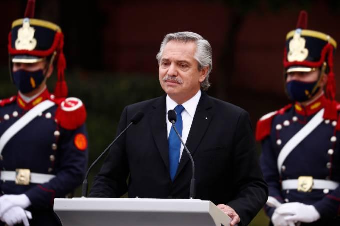Presidente da Aegentina, Alberto Fernández – 09/06/2021 –