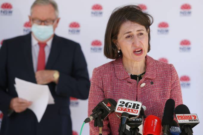 NSW Premier Gladys Berejiklian Announces Lockdown Restrictions For Four Local Government Areas Of Sydney